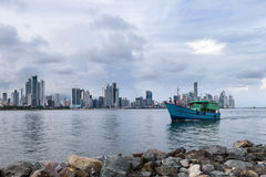 De Stad van Panama, Panama Stock Foto's