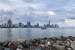 De Stad van Panama, Panama Stock Fotografie