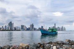 De Stad van Panama, Panama Stock Afbeelding