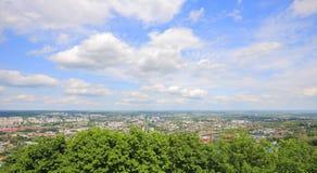 De stad van panoramalviv Stock Afbeeldingen