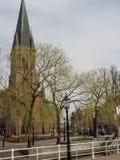 De stad van papenburg in Duitsland Stock Fotografie