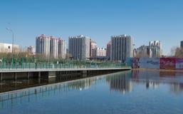 De stad van Peking Stock Fotografie