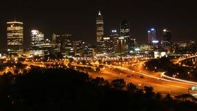 De Stad van Perth Royalty-vrije Stock Afbeeldingen