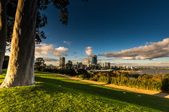 De Stad van Perth Stock Afbeeldingen