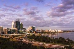 De Stad van Perth Stock Foto