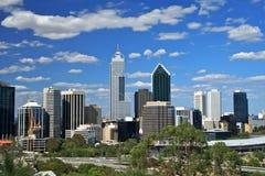 De stad van Perth, Westelijk Australië Stock Afbeeldingen