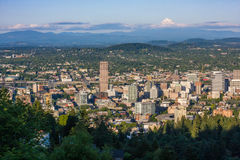 De stad van Portland Oregon Royalty-vrije Stock Foto's