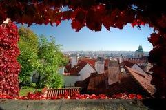 De Stad van Praag Stock Afbeelding