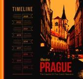 De stad van Praag Royalty-vrije Stock Afbeeldingen