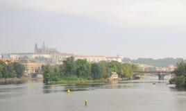 De stad van Praag Stock Fotografie