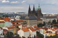 De stad van Praag, Czechia stock foto