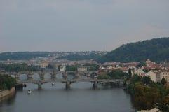 De stad van Praag in Tsjechische republiek Royalty-vrije Stock Afbeelding