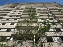 De stad van Pripyat Royalty-vrije Stock Afbeeldingen
