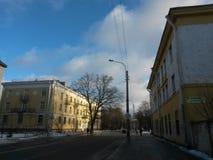 De stad van Pushkin Royalty-vrije Stock Foto's