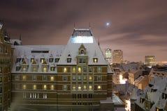 De Stad van Quebec Royalty-vrije Stock Foto's
