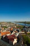 De stad van Riga Royalty-vrije Stock Foto