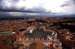 De Stad van Rome, Vatikaan Stock Afbeelding
