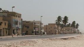 De stad van Salalaoman op kust stock videobeelden