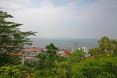 De stad van Sandakan royalty-vrije stock fotografie