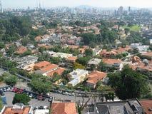 De stad van Sao Paulo stock foto's