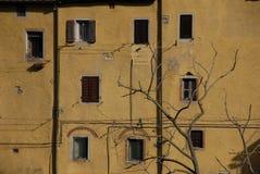 De stad van Sassetta Royalty-vrije Stock Foto's