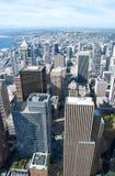 De stad in van Seattle Stock Fotografie