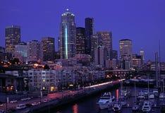 De stad van Seattle Stock Foto