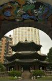 De stad van Seoel Stock Foto's