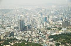 De stad van Seoel van Korea Stock Foto's