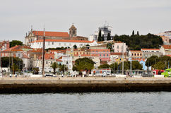 De stad van Setubal Royalty-vrije Stock Foto's
