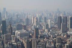 De Stad van Shanghai Royalty-vrije Stock Fotografie