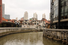 De stad van Shanghai China Royalty-vrije Stock Foto