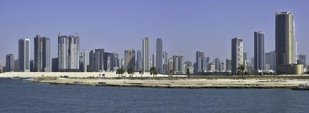 De Stad van Sharjah Royalty-vrije Stock Fotografie
