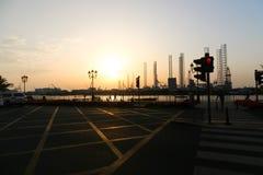 De Stad van Sharjah - Emiraten Royalty-vrije Stock Afbeelding