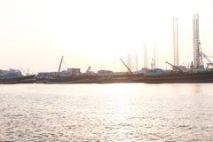 De Stad van Sharjah - Emiraten Stock Fotografie