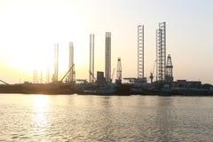 De Stad van Sharjah - Emiraten Royalty-vrije Stock Afbeeldingen