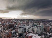 De stad van Sheffield Royalty-vrije Stock Foto's