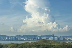 De Stad van Shenzhen, China stock fotografie