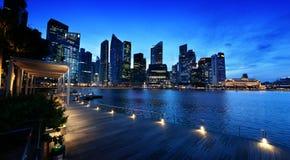 De stad van Singapore stock afbeelding