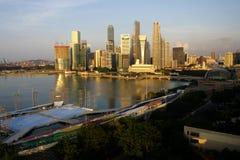 De Stad van Singapore Stock Foto's