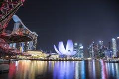 De Stad van Singapore, Singapore stock foto's
