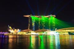 De Stad van Singapore, Singapore Stock Afbeelding