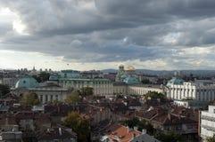 De stad van Sofia Stock Foto's