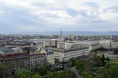 De stad van Sofia Stock Afbeelding