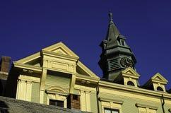 De stad van stadshall provence Royalty-vrije Stock Afbeeldingen