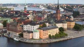 De Stad van Stockholm stock video