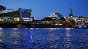 De Stad van Stockholm stock footage
