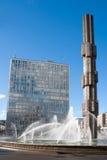 De stad van Stockholm. Zweden stock afbeeldingen