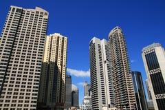 De stad van Sydney Stock Afbeeldingen