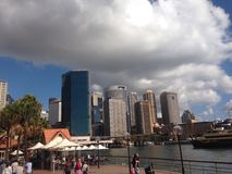 De stad van Sydney Stock Afbeelding